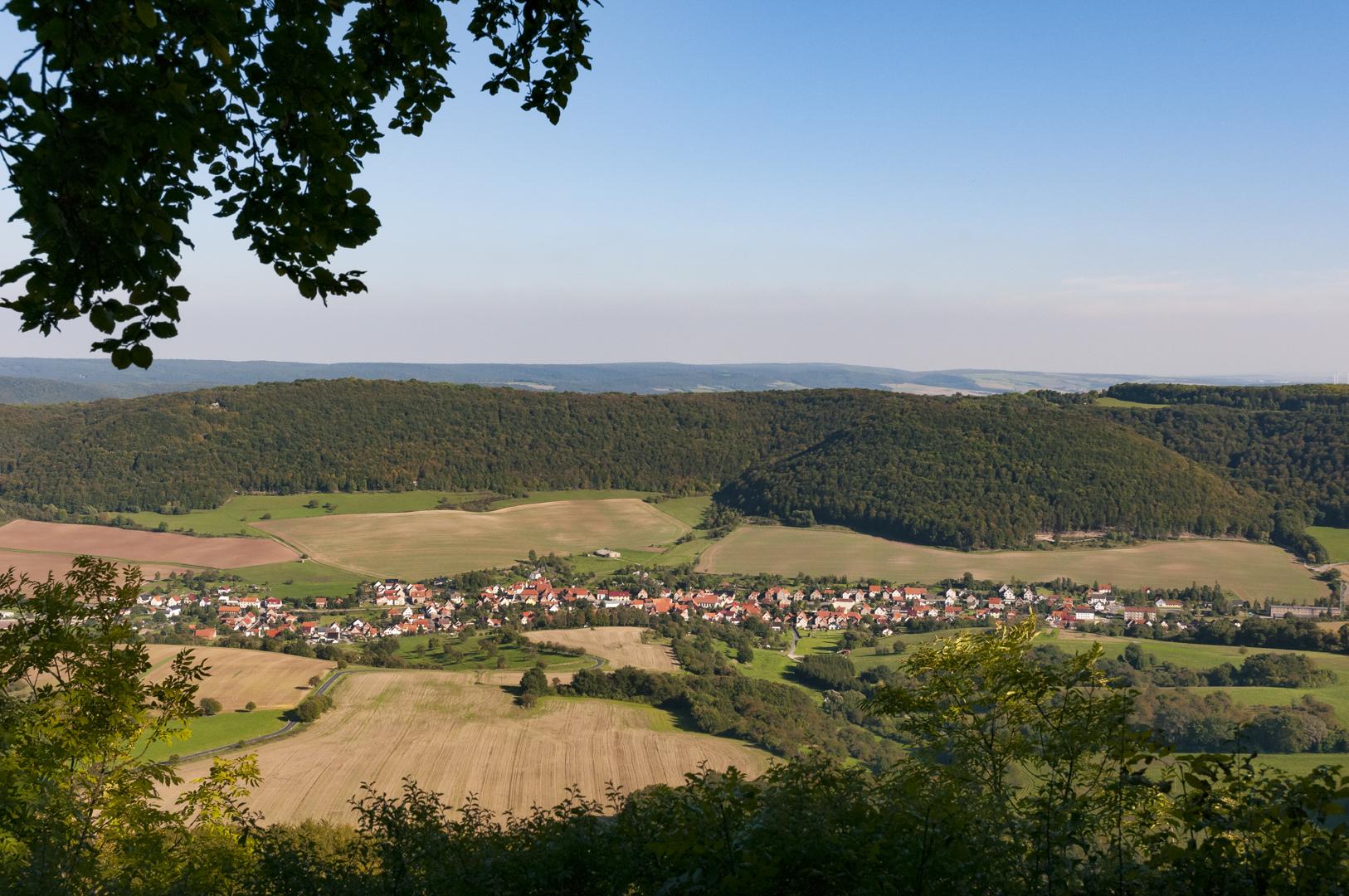 Blick von der Hüneburg